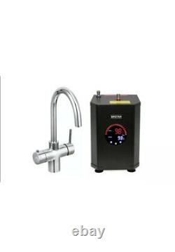 3 in 1 Instant Boiling Water Hot/Cold Water Kitchen Tap Filter & Tank Twin Lever