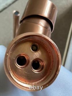BNWT Copper / Rose Gold Coloured Mono Kitchen Sink Mixer Tap