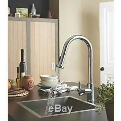 BRISTAN Apricot Monobloc Sink Mixer with Pull Out Spray Chrome APR PULL SNK C