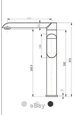 Black&Gold Kitchen Sink Basin Mixer Tap Swivel Spout Mixing Faucet Tap Brass