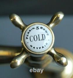 Brass Mixer Taps Taps Ideal Belfast Kitchen Sink Fully Refurbed Taps 9 Spout