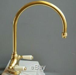 Brass Mono Mixer Lever Taps Kitchen Mixer Ideal Belfast Sink Fully Refurbished
