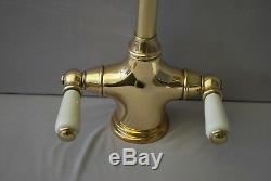 Brass Mono Mixer Lever Taps Kitchen Mixer Ideal Belfast Sink Refurbished