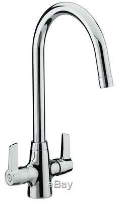 Bristan Echo Easy Fit Monobloc Sink Mixer Tap Chrome EC SNK EF C