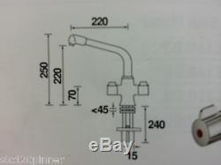 Bristan Manhattan Monobloc Sink Mixer MOCCA / MOCHA MH SNK MOC Easyfit