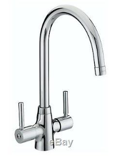 Bristan Monza Kitchen Sink Monobloc Mixer Tap Easy Fit Chrome MZSNKEFC