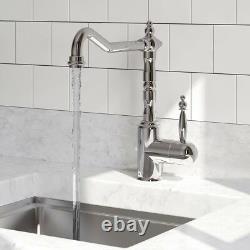 Bristan Traditional Colonial Single Lever Easyfit Sink Mixer Chrome K SNKSL EF C