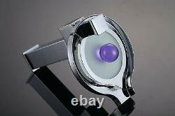 Chrome LED Waterfall Colors Changing Bathroom Basin Mixer Sink Faucet HDD727H