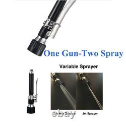 Commercial Kitchen Sprayer Faucet with Dual Function Pull Down Spray Head