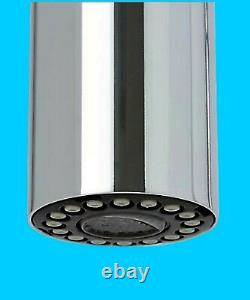 Cooke & Lewis Flinter Kitchen Side Lever Spring Neck Mixer Tap Chrome Effect