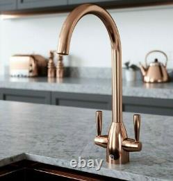 Copper Kitchen Tap Inc. Water Filter Kit. Tfvibtap2cop