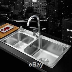 Durable Handle Swivel Mixer Faucet Kitchen Nickel Sink Liquid Soap Dispenser Tap