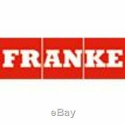 FRANKE Cresta Dual Lever Sink Mounted Mono Mixer Kitchen Tap Brushed Steel NEW