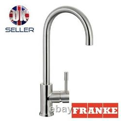 Franke Eos Kitchen Sink Stainless Steel Tap With Pull-out Spout