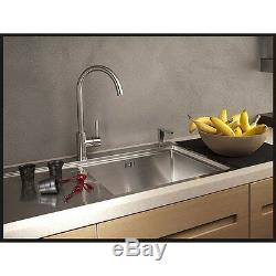 Franke Lula Chrome Single Lever Kitchen Sink Mixer Tap