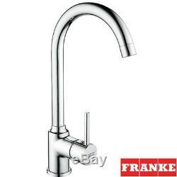 Franke Pola Chrome Single Lever Kitchen Sink Mixer Tap