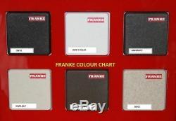 Franke Pola Stone Grey Swivel Spout Mono Kitchen Sink Modern Mixer Tap Single