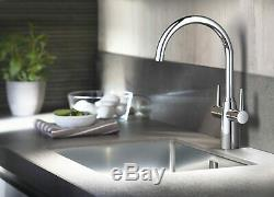 GROHE Ambi Kitchen Sink Mixer Tap Dual Lever New Boxed
