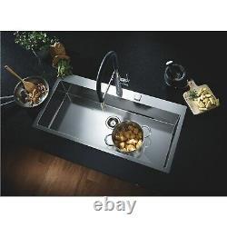 Grohe Chrome Single Lever Mixer Kitchen Tap