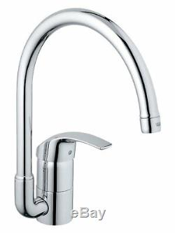 Grohe Eurosmart Kitchen Sink Mixer Swivel Tubular Spout Aerator Lever 33202001