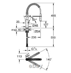 Grohe Kitchen Sink Get Single Lever Tap 3036000