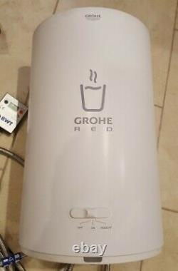 Grohe RED Duo 2.0 Instant Boiling Water Kitchen Tap and M Size Boiler +Hot +Cold