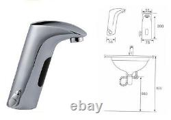 Hands Free Automatic Sensor Thermostatic Bathroom Faucet by Cascada Showers