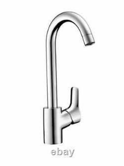 Hansgrohe Faucet Mixer Sink Swan Neck Mysport Cartridge Ceramic