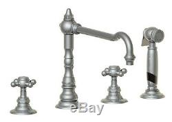 Horus Traditional Victorian Edwardian Sink Mixer 4 Hole Tap inc Handspray 01.124