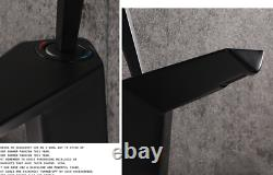 Hot Creative Bathroom Sink Faucet Hot&Cold Mixer Brass Modern Tap 1 Handle Black