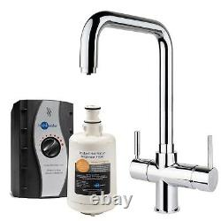 InSinkErator 3 in 1 Kitchen Tap 45154 + Tank Boiling, Standard Hot & Cold Chrome