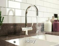 Instant Boiling Water Tap. 3 In 1. Filtered Hot. Mains Cold. Mains Hot. Tank Inc