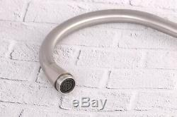 Kitchen Mixer Tap Faucet Sink Basin Swivel spout 360` Stainless Steel (67)