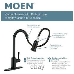 MOEN Essie Touchless Single-Handle Pull-down Sprayer Kitchen Faucet