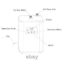 Matte Black Instant Boiling Water Tap 3 Way Water Filter & Digital Heating Unit