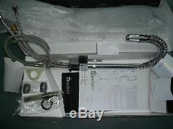 Newform Forma 60550-21-018 Tubular Swivel + Pull-out Kitchen Sink Mixer NIB
