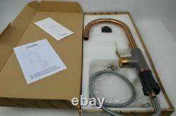 Quadron Jennifer Pull Out Kitchen Sink Mixer Tap Copper Grey Finish Pvd Steelq