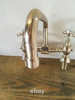 Refurbished Adams Brass Kitchen Tap -Ideal Belfast Sink-Great Quality T17