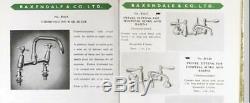 SURGEON LEVER MIXER TAP antique belfast sink faucet vintage brass