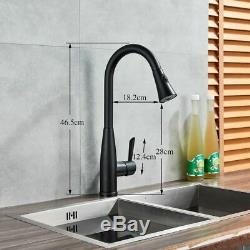 Sensor Touch Kitchen Sink Faucets Pull Out Sprayer Mixer Tap
