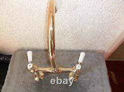 Solid Brass Kitchen Lever Mixer Tap Original Old Vintage Reclaimed