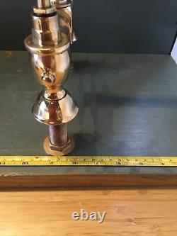 Traditional Adams Antique Brass Kitchen Taps Ideal Belfast Butler Sink R24